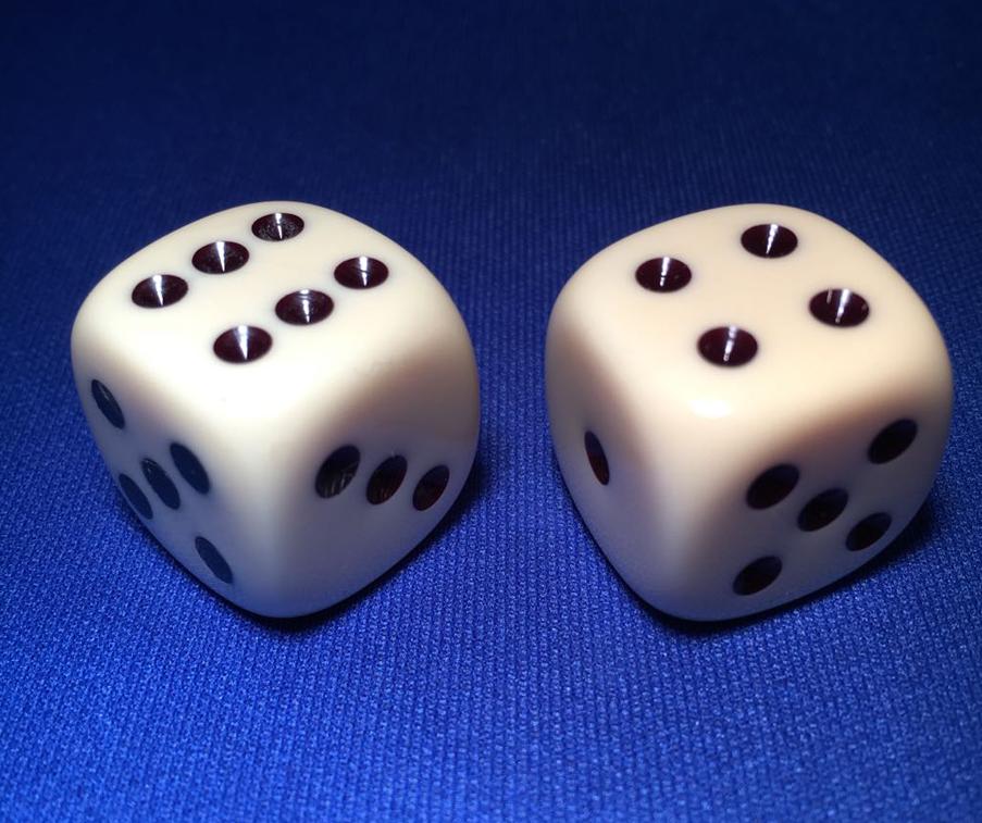 Chop-cup-dice