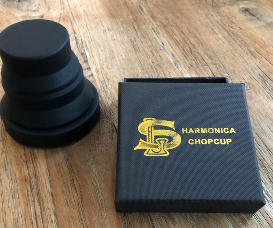 harmonica chopcup cup black