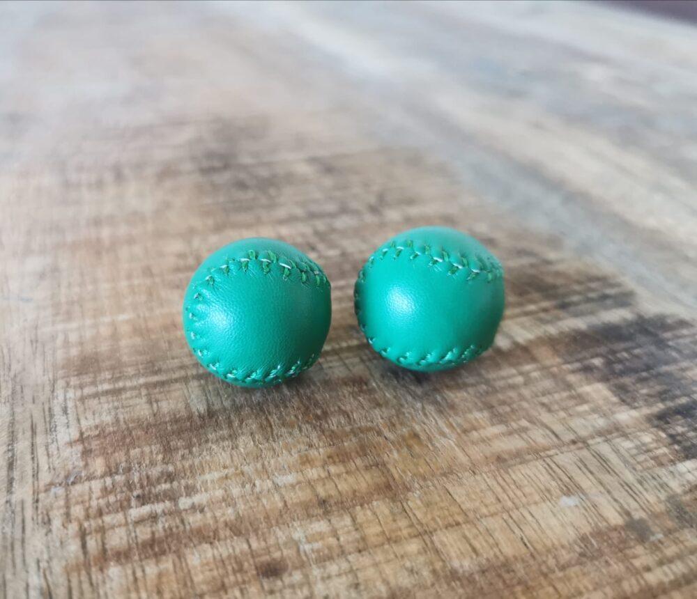 chop cup balls green
