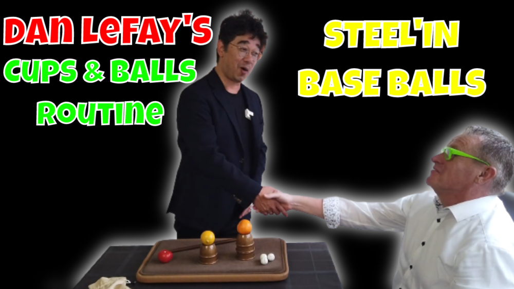 Steel'in Base balls. with Dan lefay